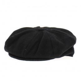 Casquette irlandaise Galway Noir - Hanna hats