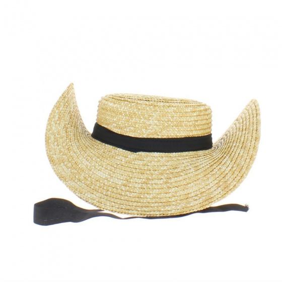 """Bourbonnais hat - two hello hat or """"biche"""" hat"""