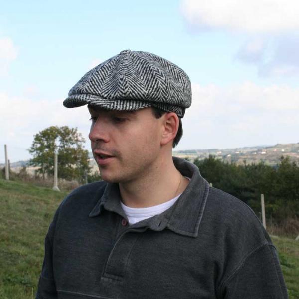 f383d5d79f2 Casquette hatteras classique noir et blanc ...