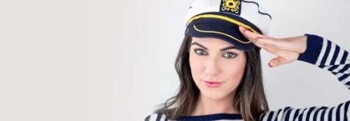 Marine cap, buy captain's cap, marine beret, marine captain's cap, marine beret