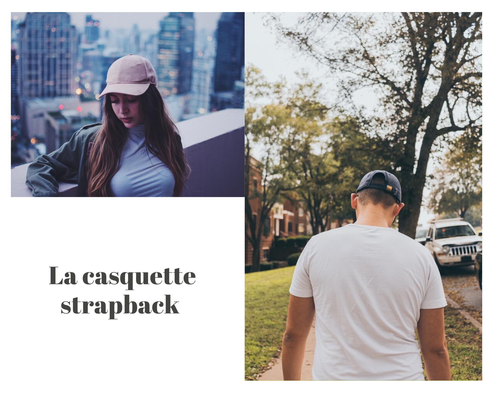 Casquette Strapback